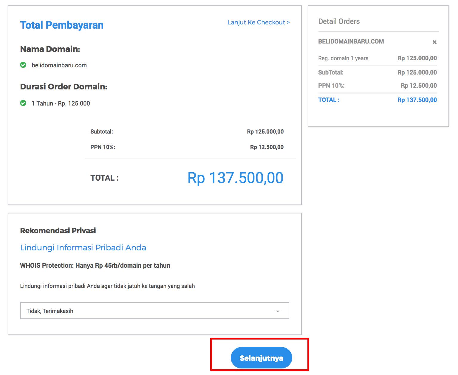 cara beli domain harga murah