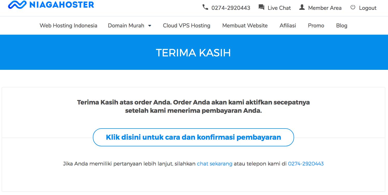 cara beli domain mudah