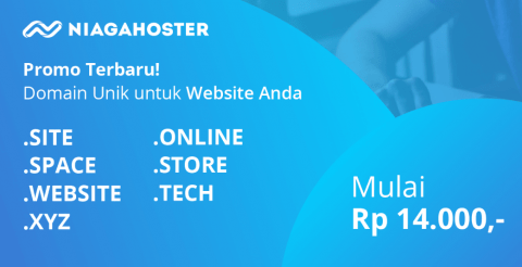promo domain murah niagahoster